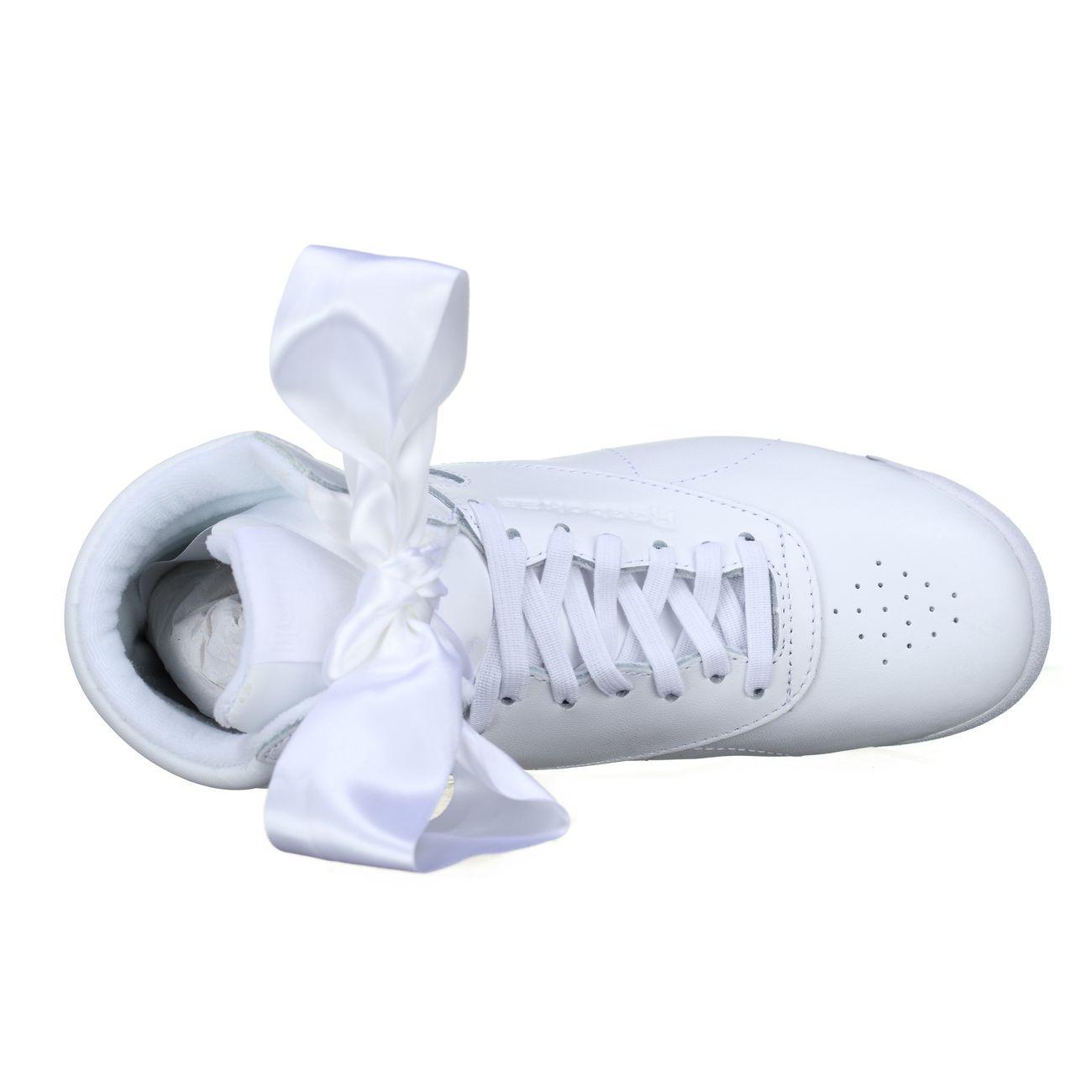 Mode Lifestyle femme REEBOK Basket Reebok Freestyle Hi Satin Bow Ref. CM8903