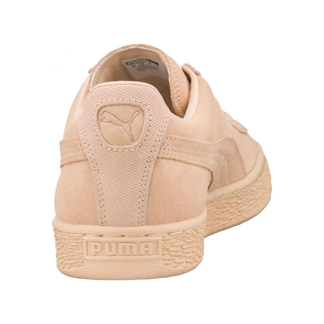 Mode Lifestyle femme PUMA Puma Suede Classic Tonal 362595 02 F Baskets Jaune