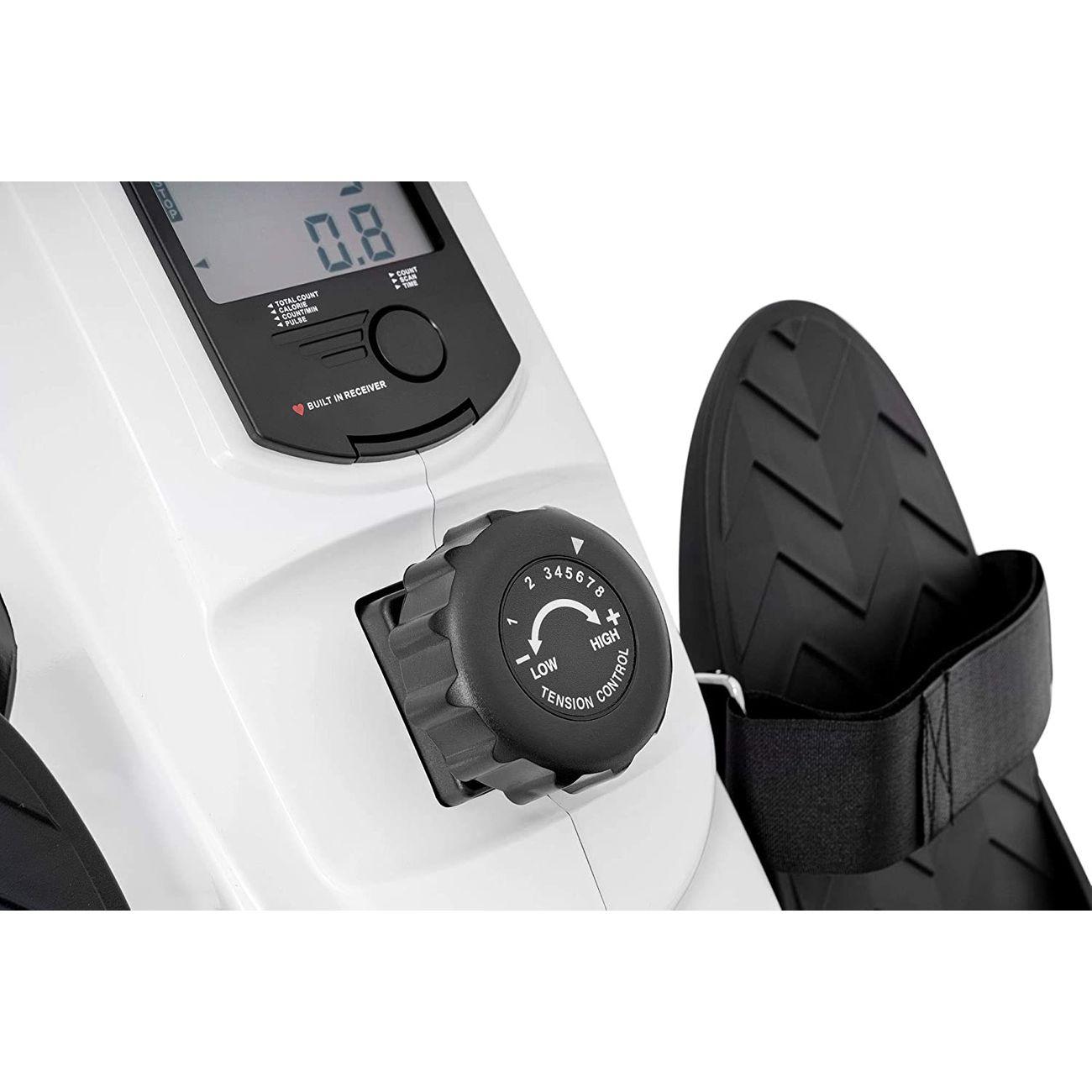 Fitness  HOP-SPORT Rameur magnétique à tirage central CROSS HS-060R de HOP-SPORT Noir et blanc