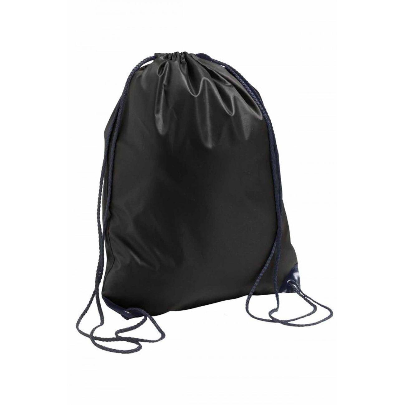 Mode- Lifestyle  SOL S Sac à dos en toile à bretelles - 70600 - noir