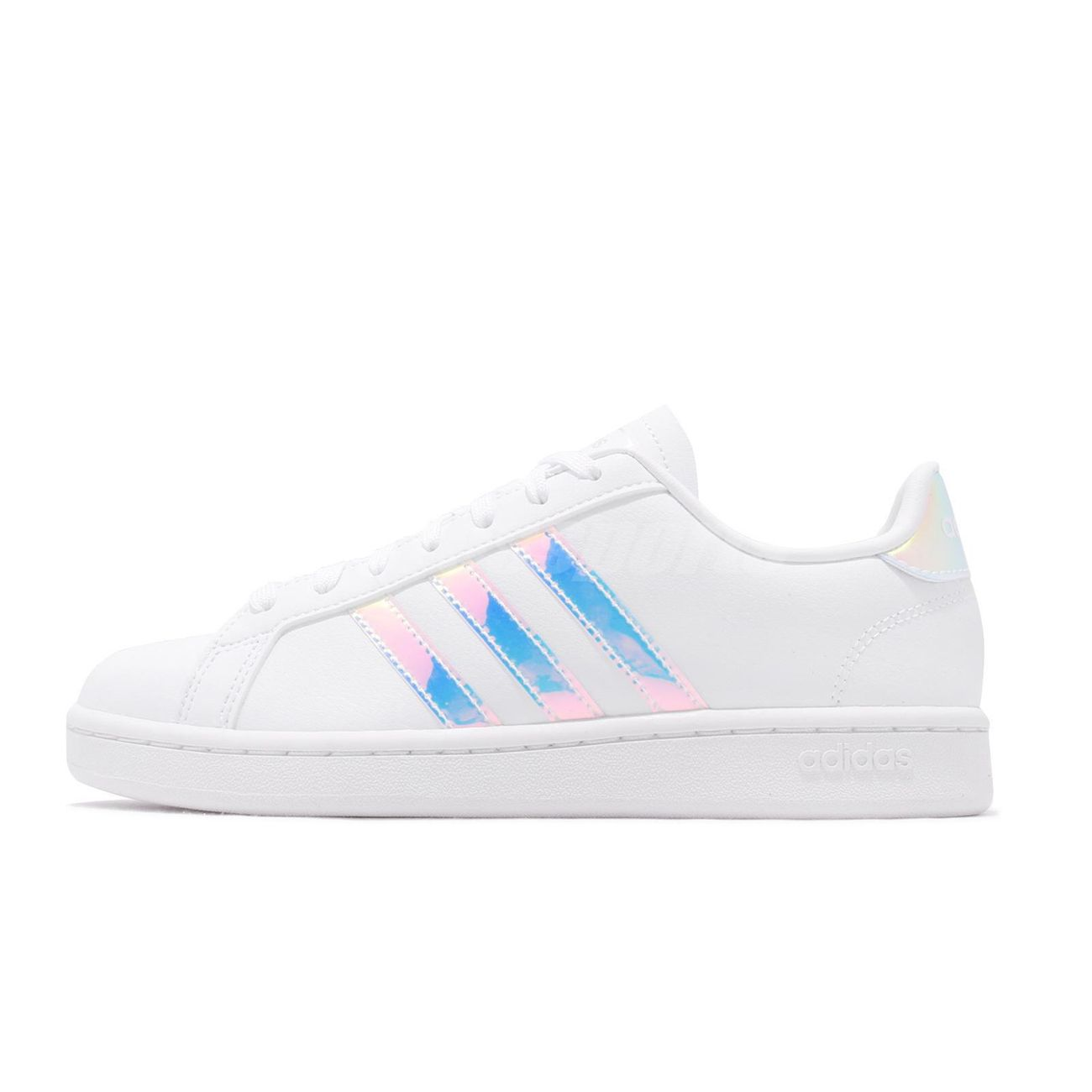 adidas grand court homme blanche