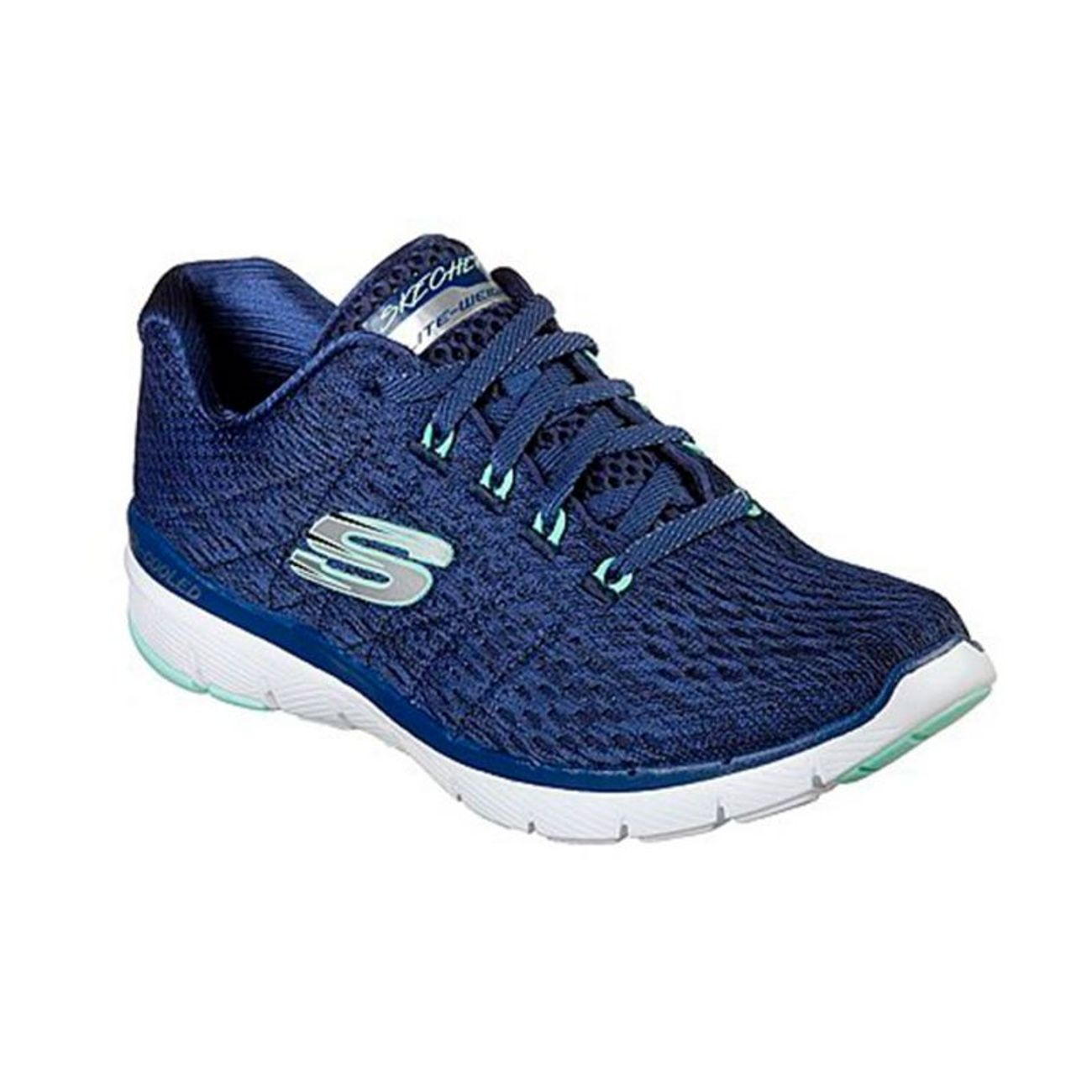 Web Femme Engineered Adulte Padel Eyele Sk13064 Bleu Mesh Nvg Marine Skechers deQBWErCox