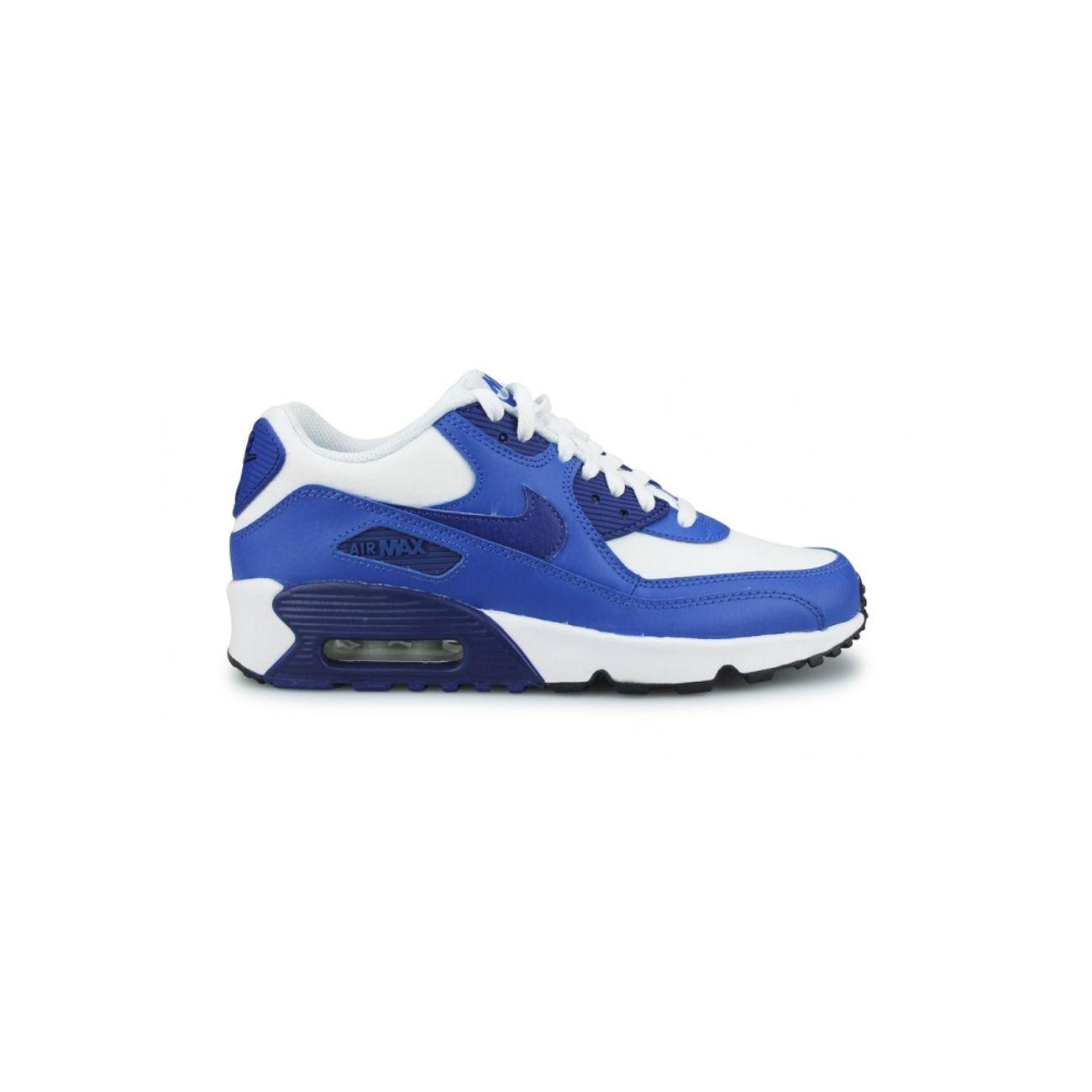 quality design 747ea ce099 Mode- Lifestyle garçon NIKE Basket Nike Air Max 90 Ltr Junior Blanc  833412-105 ...