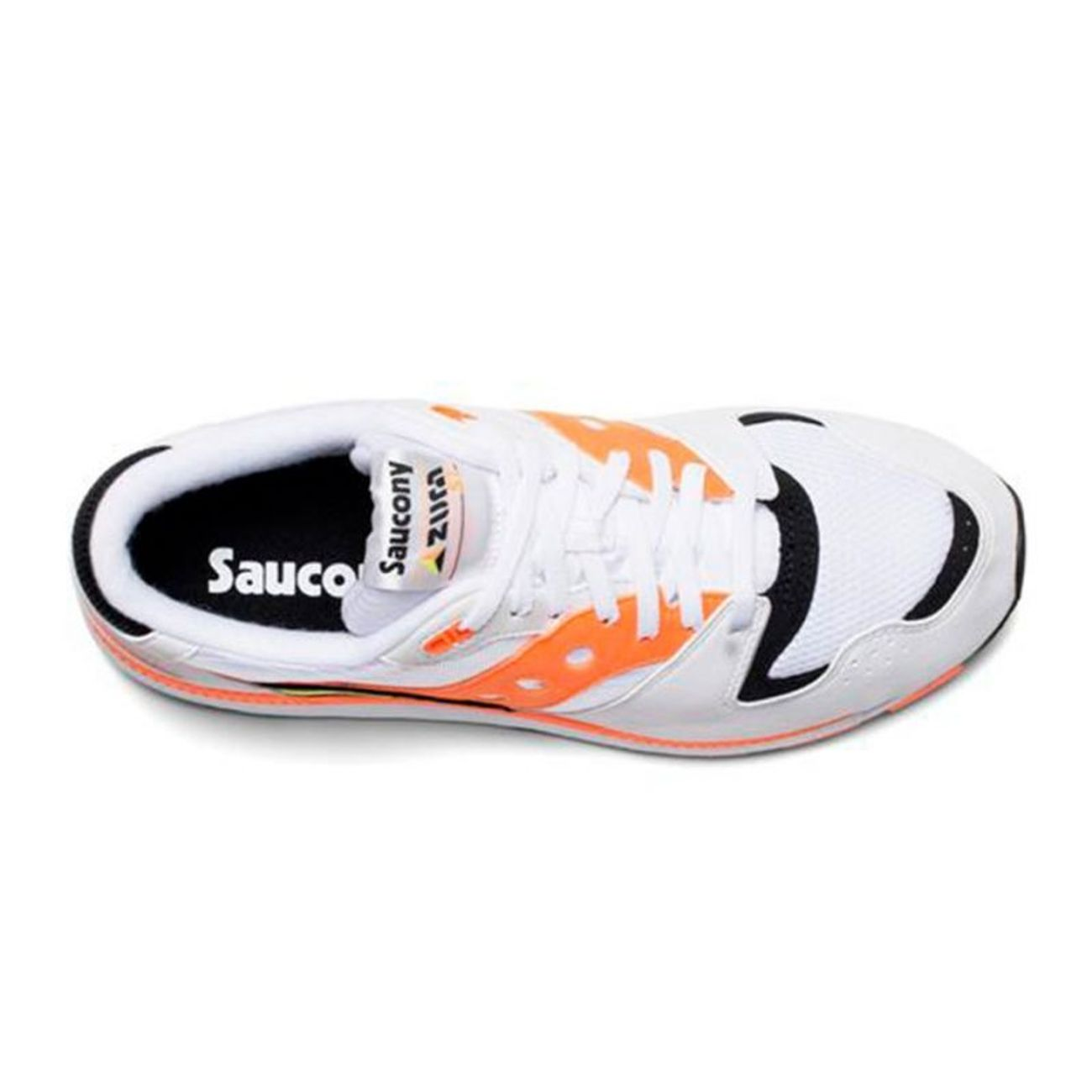 Padel Saucony Adulte S70437 Blanc Azura Orange 2 Tl1FKJc