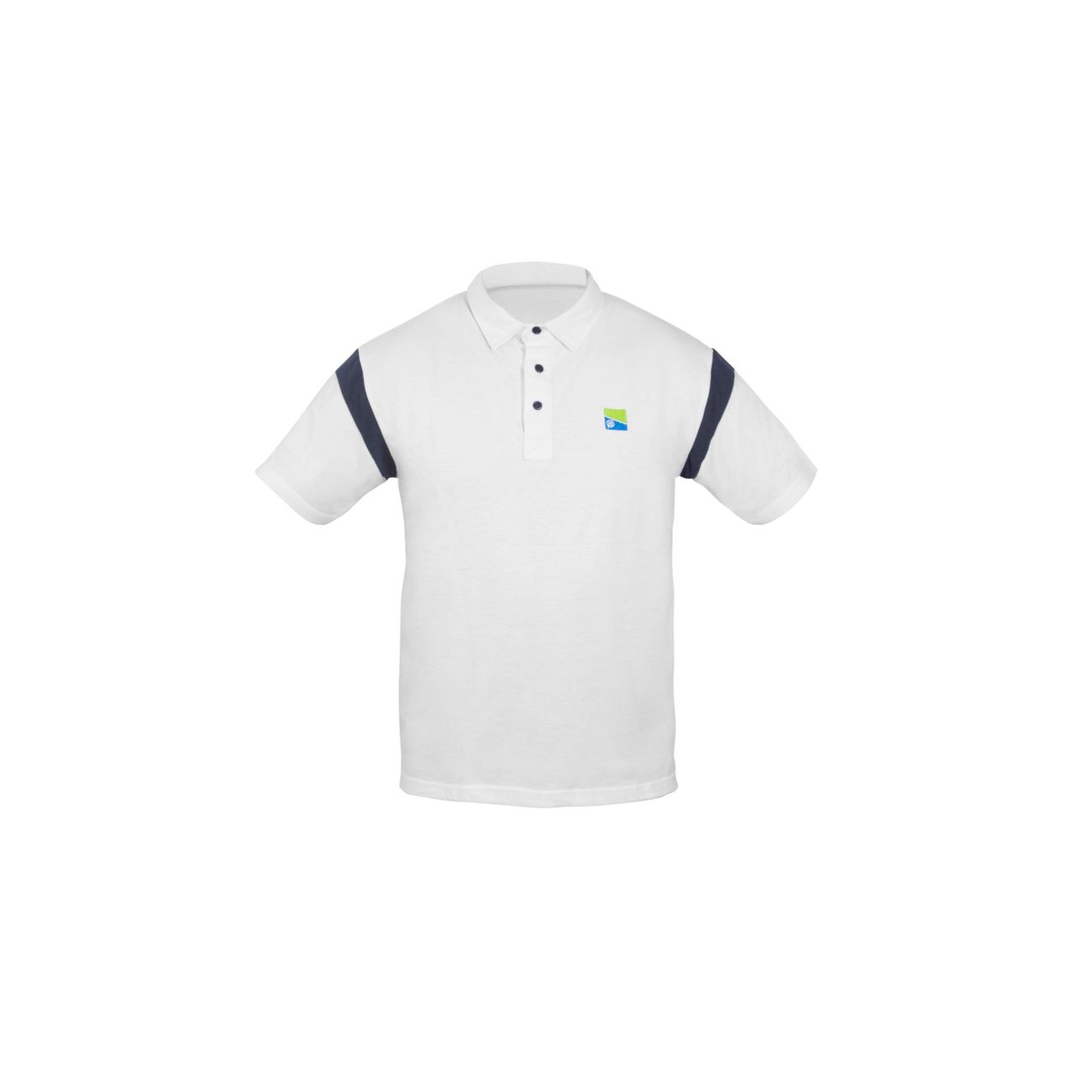 Shirt Adulte Blanc Pêche Polo Preston v80NnOmw