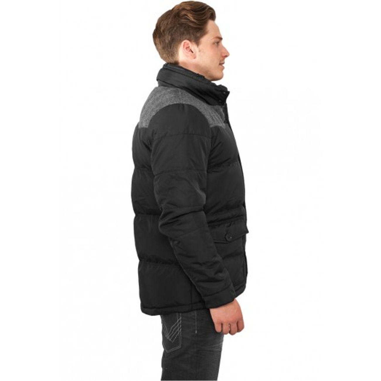 ... Mode- Lifestyle adulte URBAN CLASSICS Veste d hiver URBAN CLASSICS  Nylon Oxford Noir - 5c841feb06e1