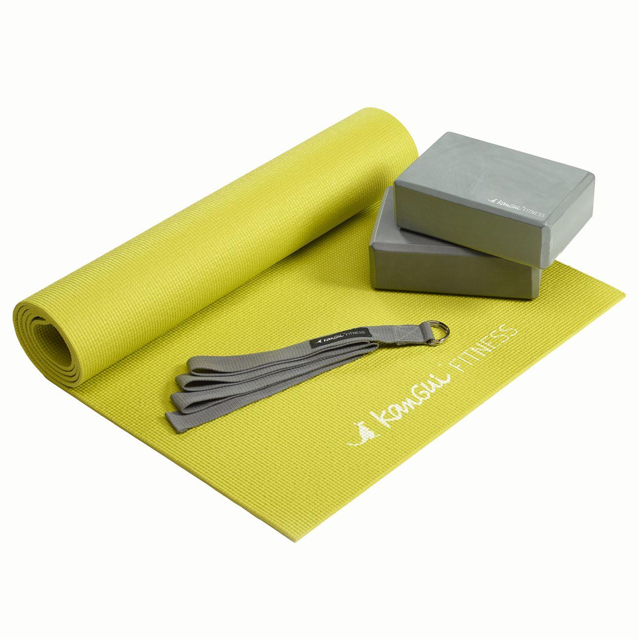 KANGUI Kangui - Kit d'accessoires de yoga - PACK YOGA BASIC