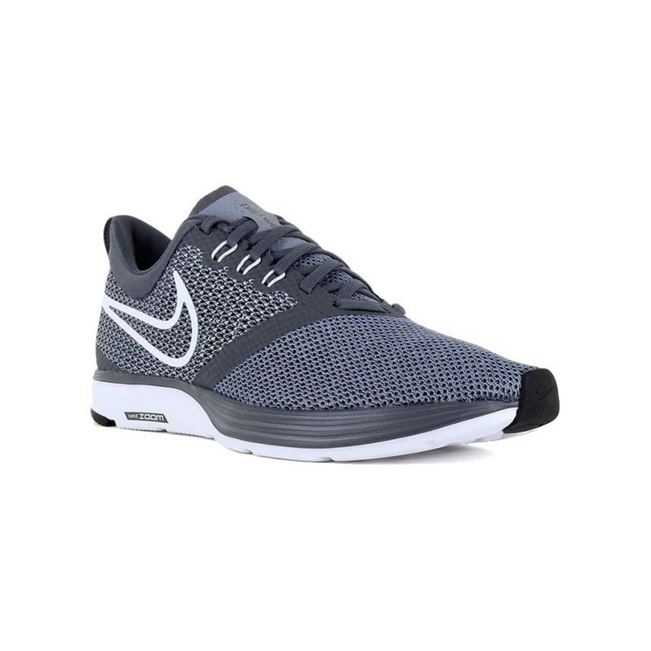 buy popular 49b6e 908f8 ... Course à pied homme NIKE Nike Zoom Strike gris, chaussures de running  homme ...