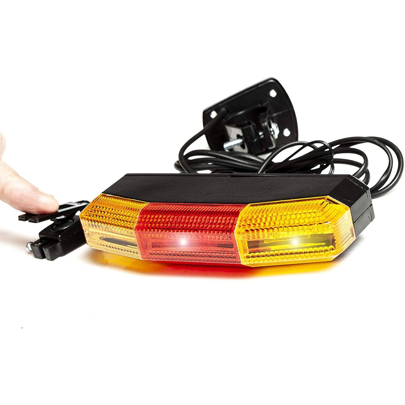 AWE AWE 7 LEDs Signal Lampes De Vélo De Frein Et Directionnel
