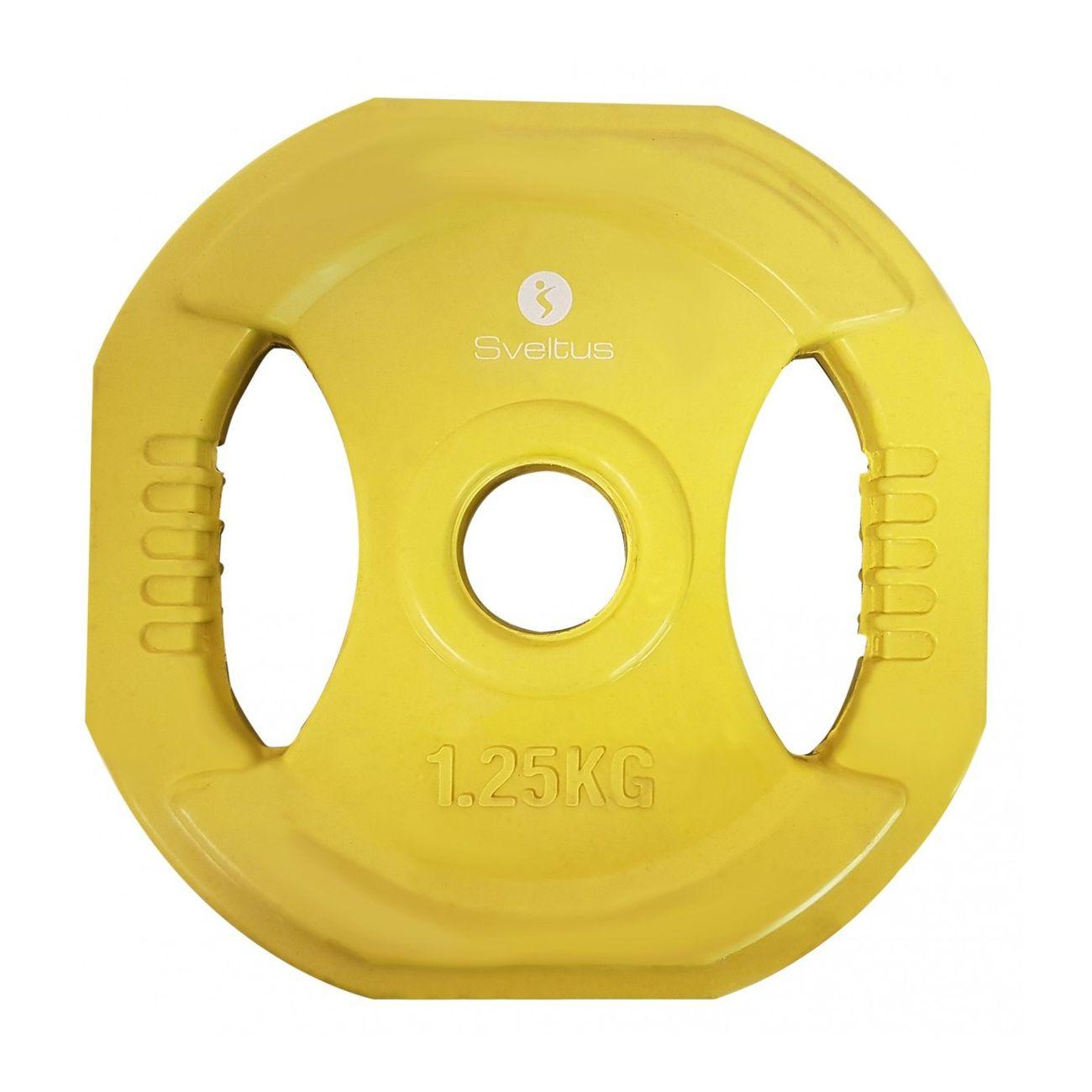 Fitness 250kg Poignées 1 Adulte Pump Disque Sveltus TFK13lcJ