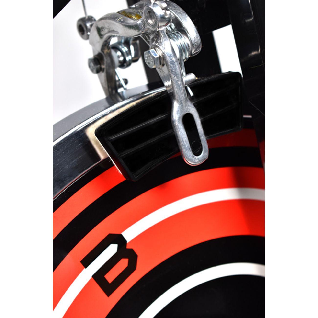 Boudech Vélo professionnel de filature avec volant de 18 kg, pédales ergonomiques et écran lcd