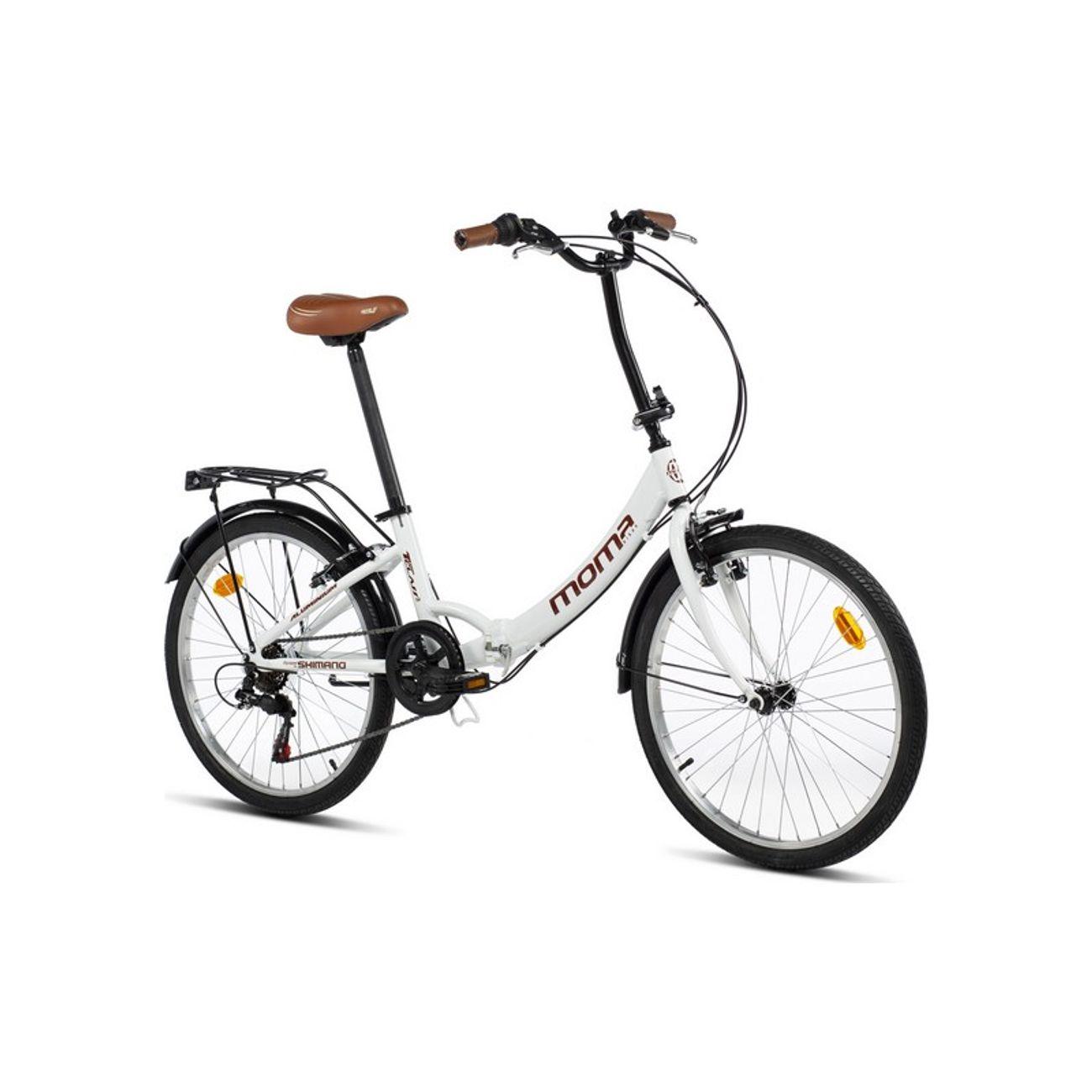 Cycle  MOMABIKES Moma Bikes, Vélo de Ville Pliant, TOP CLASS 24