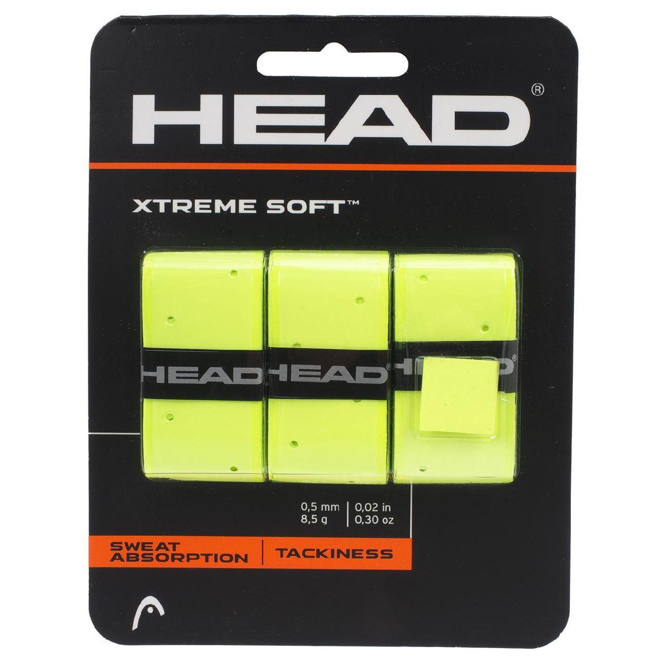 Tennis homme HEAD Xtreme soft jaune