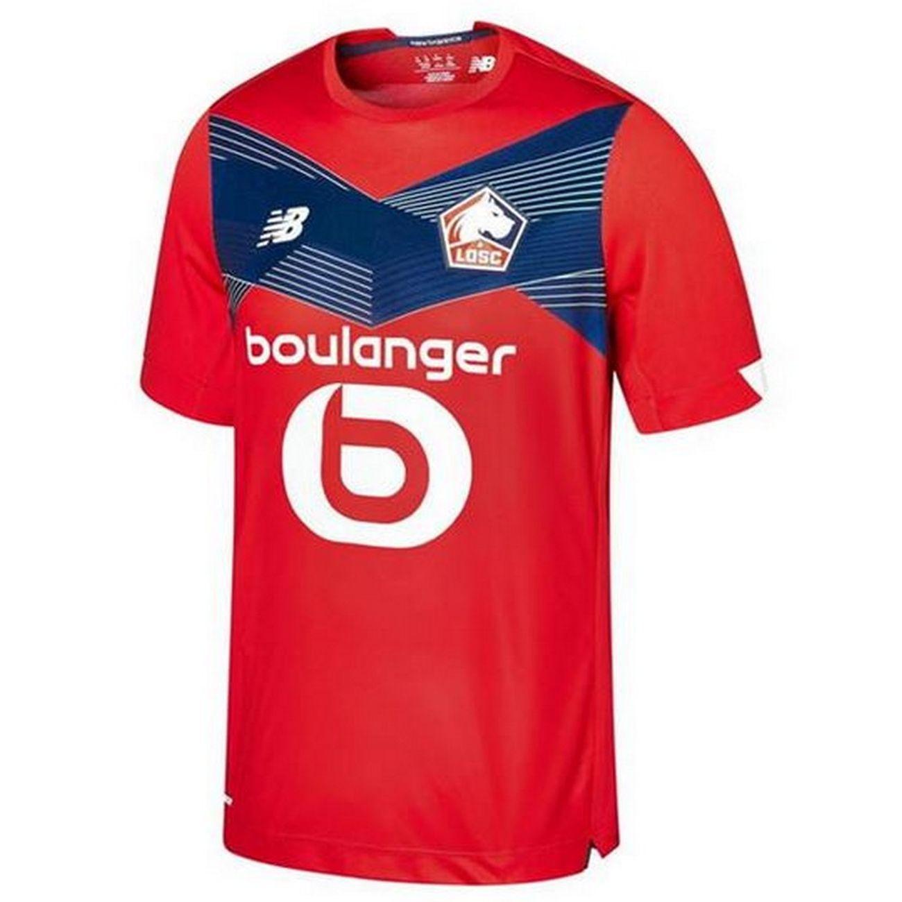 Football homme NEW BALANCE Nouveau Maillot Homme New Balance LOSC Lille Domicile Saison 2020/2021