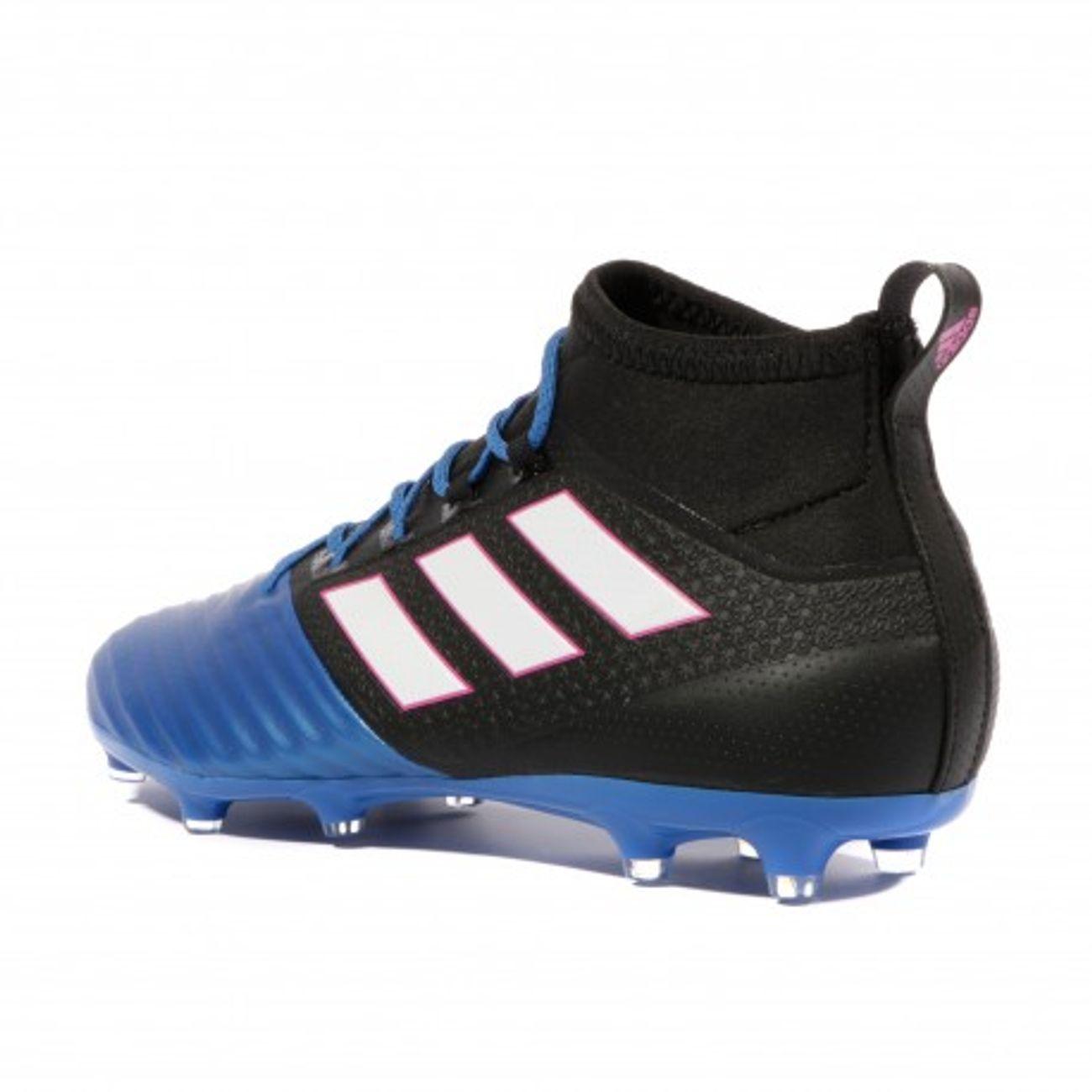 new styles 80c7e 7eea2 ... homme ADIDAS Ace 17.2 Primemesh FG Homme Chaussures Football Noir Bleu  Adidas