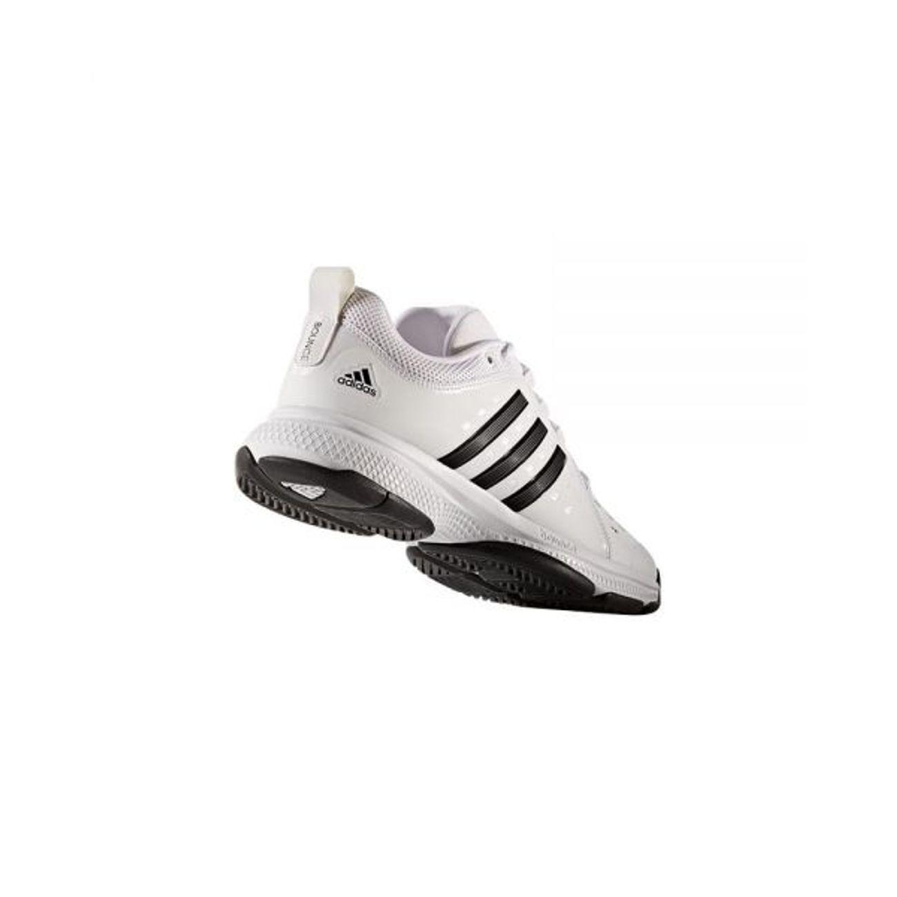 best website 9d35c de3c9 ... Tennis homme ADIDAS Adidas - Barricade Classic Bounce Synthetic  chaussures de tennis pour hommes (blanc ...