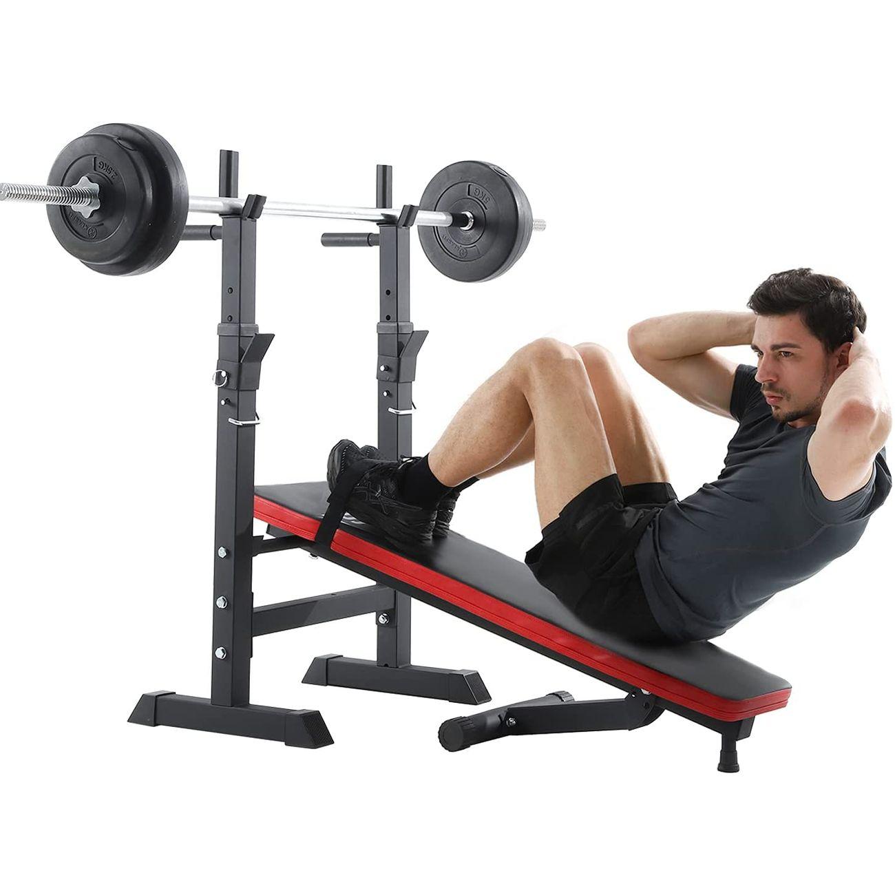 ISE ISE Banc de musculation pliable et réglable SY-544-BK