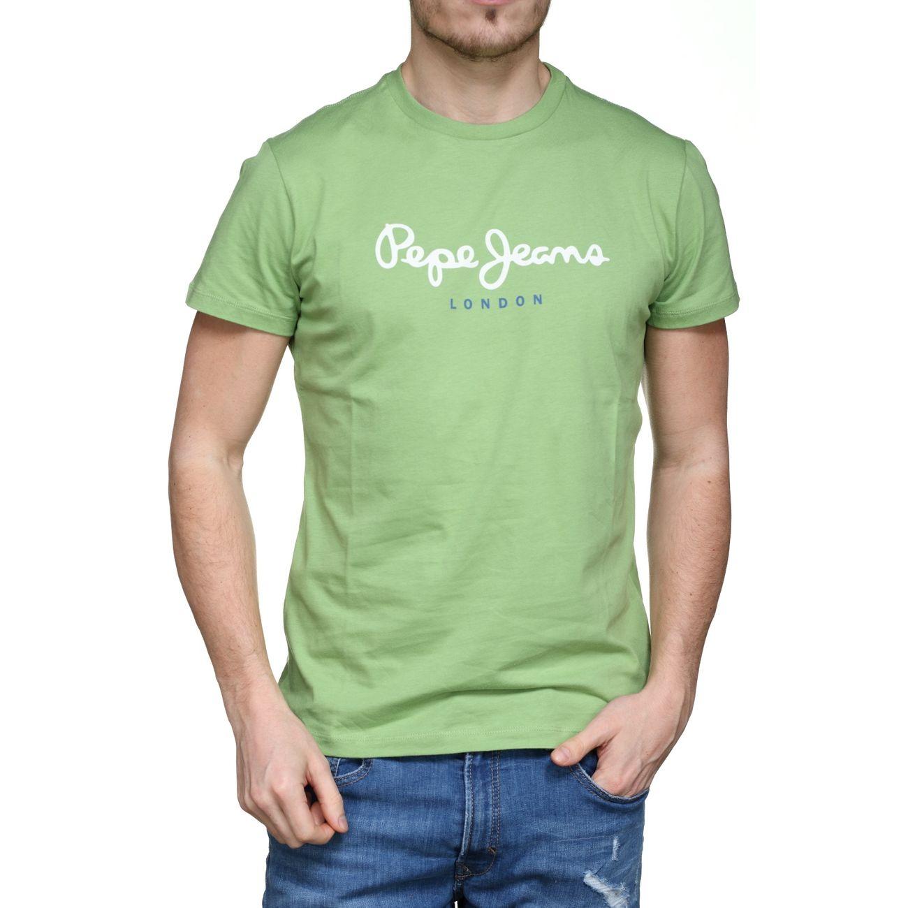 ModeLifestyle Grn Jeans Tee Eggo Homme Pm500465 637 Mallard Pepe Shirt 5jL4AR