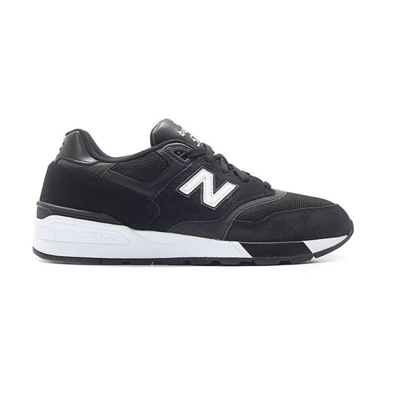 Mode- Lifestyle homme NEW BALANCE New Balance ML597AAC H Baskets Noir ... 3c1444e868ef