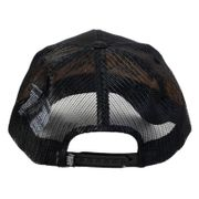 Casquette Von Dutch Matt 01 Black Orange
