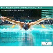 Lunettes de natation Harpoon protection UV + anti-buée, AF-2000m