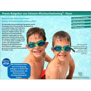 Lunettes de natation Flippo protection UV + anti-buée pliables, idéales pour ENFANTS, AF-1700S