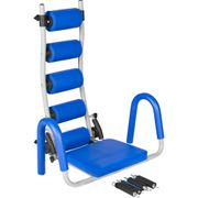 Gorilla Sports - Appareil de Fitness pour abdominaux et dorsaux