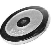Gorilla Sports - Poids disque chromé 20 kg