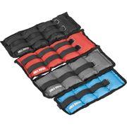 Gorilla Sports - Bandes lestées pour poignets ou chevilles de 2x0.5kg à 2x5kg