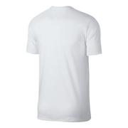 T-shirt à manches courtes Nike Sportswear Camo blanc gris