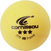BALLES ITTF  ORANGES 3 ETOILES X3