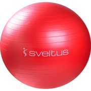 GYMBALL 65 CM ROUGE