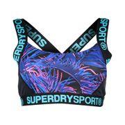 Superdry Sport Colourblock Printed Bra