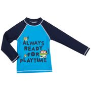 ARENA WATER TRIBE KIDS BOY UV L/S TEE