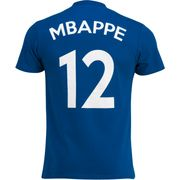 TEE SHIRT PLAYER MBAPPE N°12 J