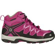 TREK 200 MID JR WP GRIS FUSHIA