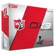 BALLES Golf  WILSON DX3 SOFT SPIN DOZ