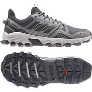 CHAUSSURES BASSES running homme ADIDAS ROCKADIA TRAIL, GRIS