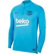 MAILLOT ENTRAINEMENT homme NIKE BARCA DRY SQD DRIL TOP 2018-2019