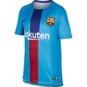 MAILLOT ENTRAINEMENT enfant NIKE BARCA DRY SQD TOP SS G