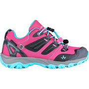 HIKE 300 LOW JR WP FUSHIA BLEU