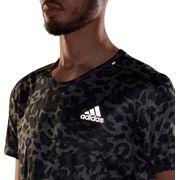 Tee Shirt MC running homme ADIDAS P.BLUE