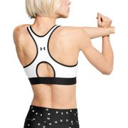 BRASSIERE Fitness femme UNDER ARMOUR MID KEYHOLE GRAPHIC