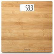 Soehnle Pèse-personne de salle bain Bamboo 180 kg Marron 63844