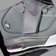 NIKE Zoom Soldier IV Lebron James Grey Purple