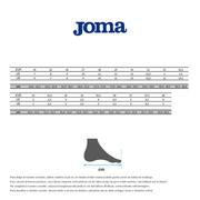 Chaussures Joma Ginkana avec velcro 911 blanc bleu jaune enfant