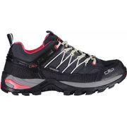 Chaussures de marche CMP Rigel Low Waterproof gris blanc femme