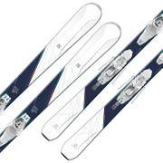 SALOMON E W-Max 6 Skis + E Lithium 10 Fixations Femme