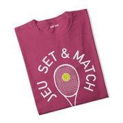 T-shirt fille Jeu Set & Match