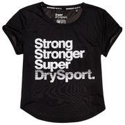 SUPERDRY Sd Sport Fitspiration T-Shirt Mc Femme